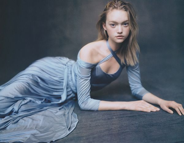 Model: Gemma Ward   Photographer: Paolo Roversi - for Hermès Spring 2005 campaign (the lacing at the top reminds me of balett slippers)