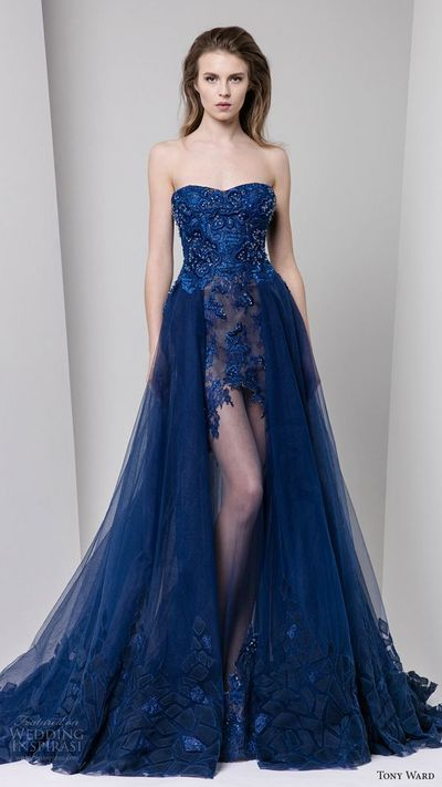 2017 Unbelievable Royal Blue Prom Dress,Beading Lace Evening Dress,Sexy Sweetheart Party Dress