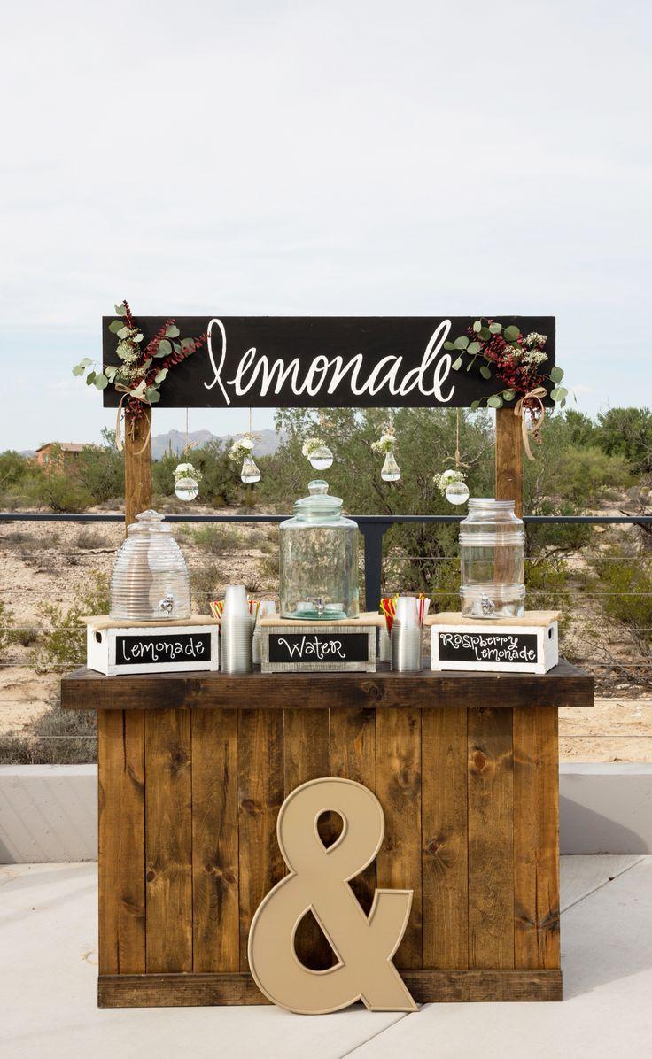 Der Trend in der Bar, den Sie bei Hochzeiten auf dem Land sehen werden