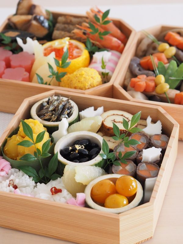Japanese New Year Traditional Foods おせち