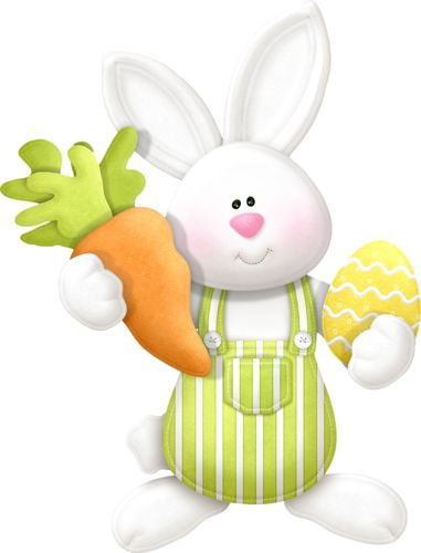 clipart lapin paques