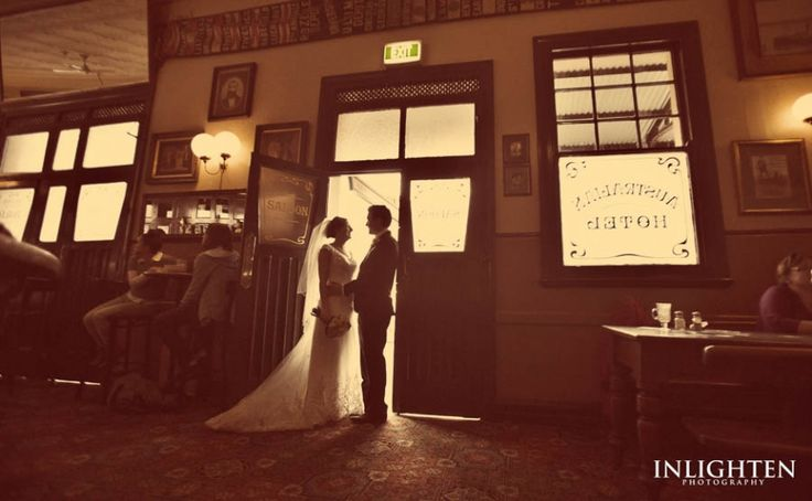 Location > THE ROCKS.   Inlighten Photography vintage wedding portraits for urban and city locations.