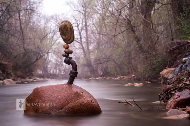 Found Objects, Boulder Creek, Colorado, 2015