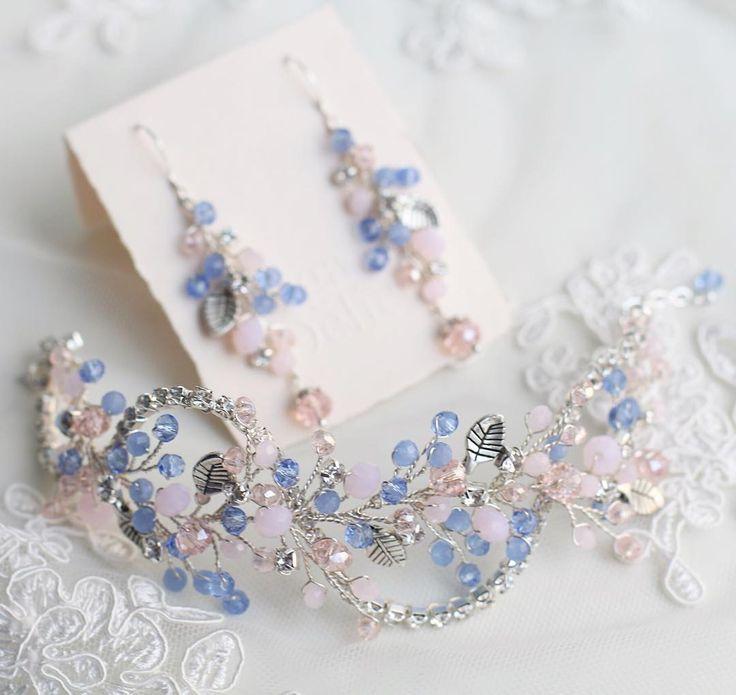 Браслет и серьги для невесты Алёны))) #olgadelice_custom_made #olgadelice