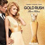 @ParisHilton My new fragrance #GoldRush is available online ✨💛✨