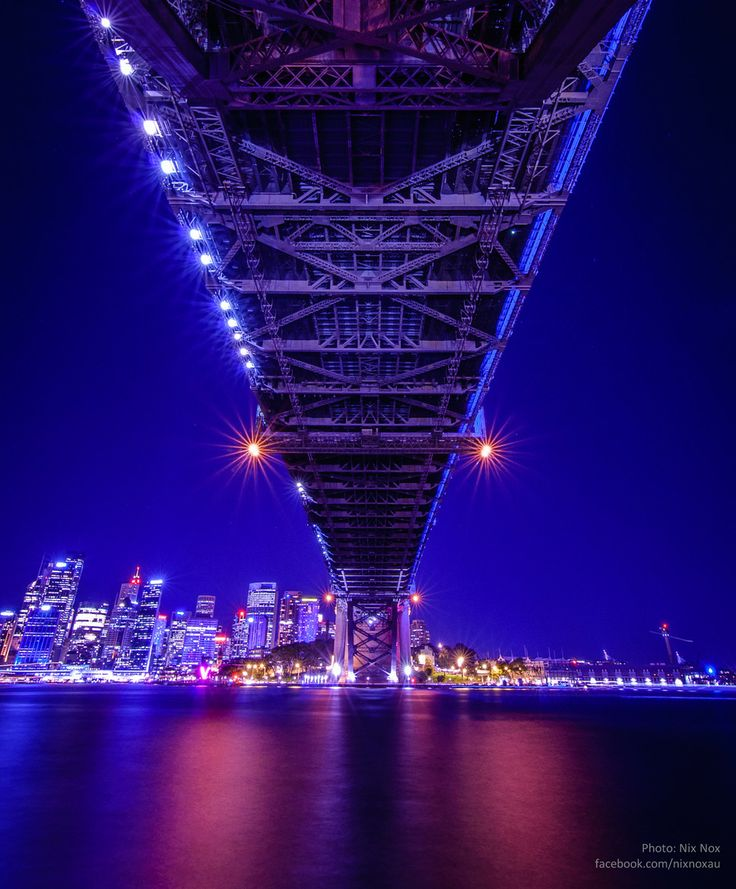 Sydney Harbour Brigde: View from Under.