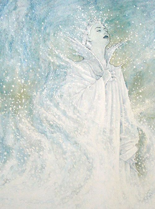 P.J. Lynch's illustrations for The Snow Queen.