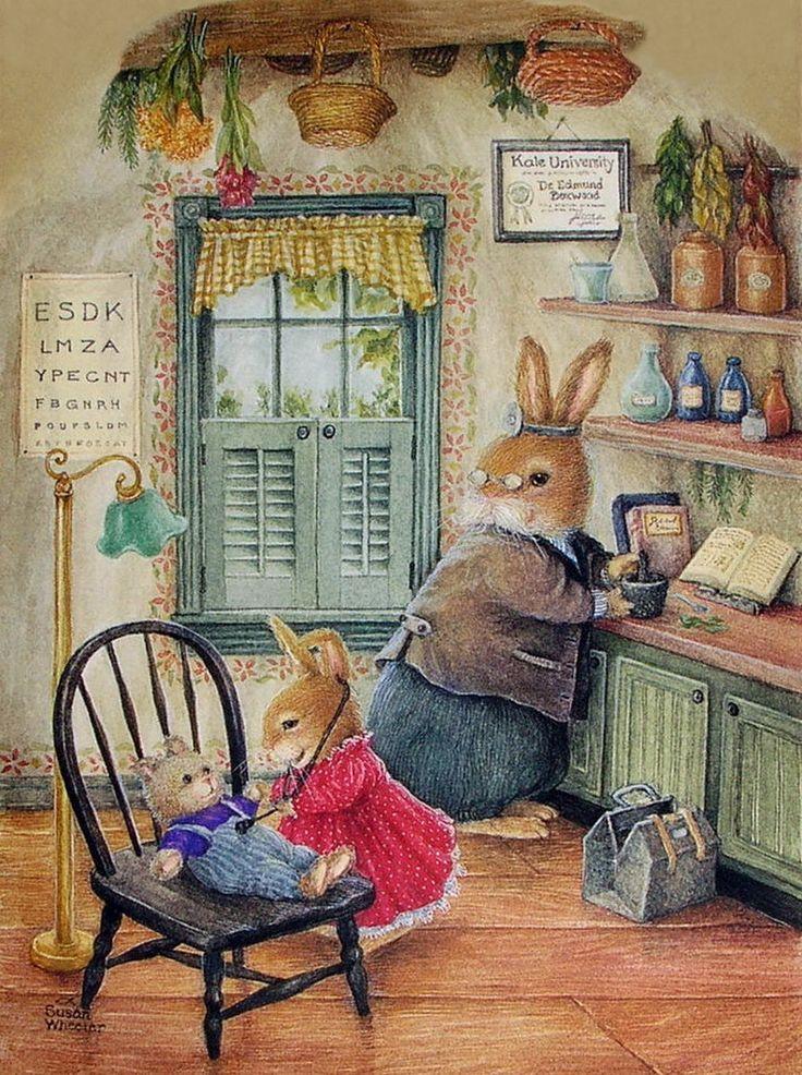 Mundo de conto de fadas encantador. O artista Susan Wheeler. Parte 1 .. Discussão sobre LiveInternet - Serviço diário russo on-line