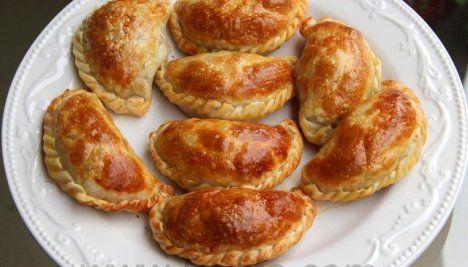 Empanadas de pollo o pavo