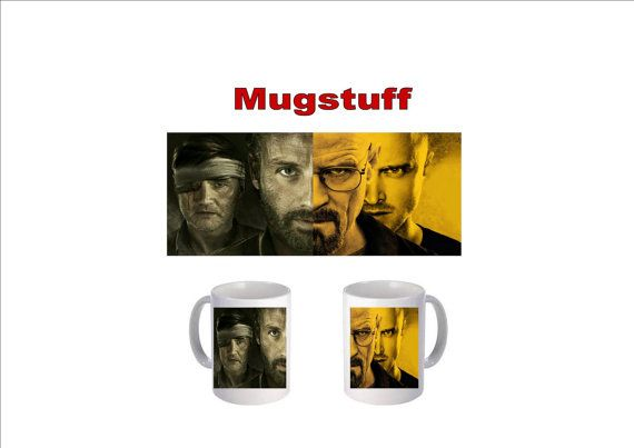 Picture Mug which can be Personalised The Breaking by Mugstuff, £5.00