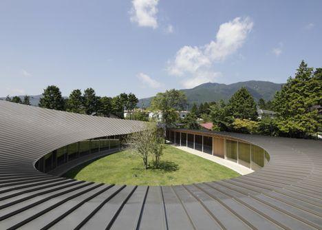 Villa at Sengokubara by Shigeru Ban