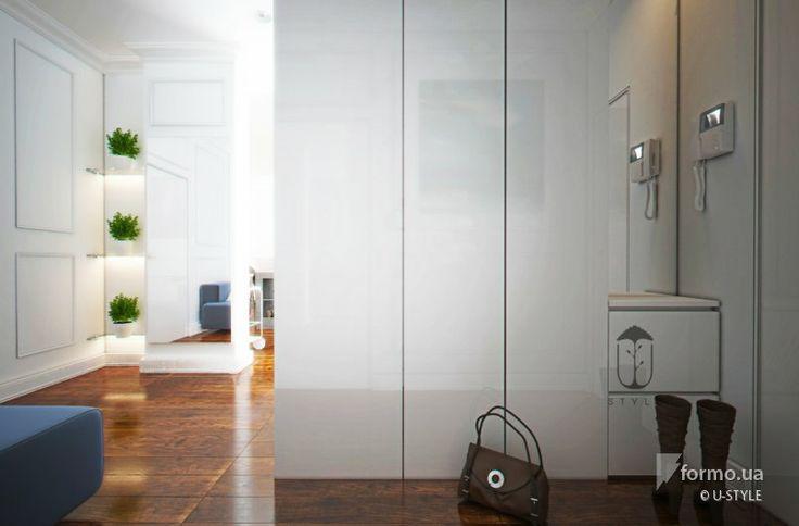 белые шкафы при входе http://formo.ua/albums/2754