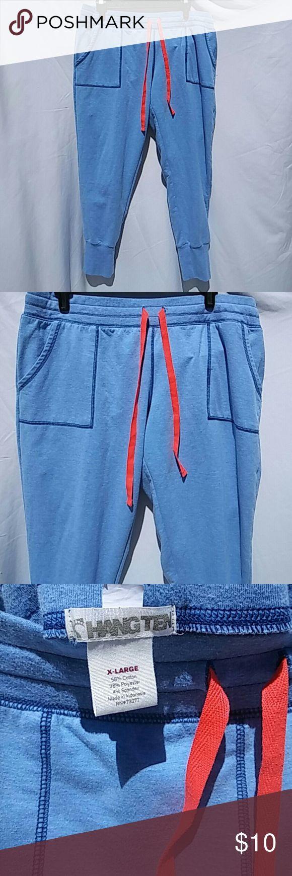XL Sweatpants Hang Ten Blue Hang Ten Sweatpants XL Hang Ten  Pants