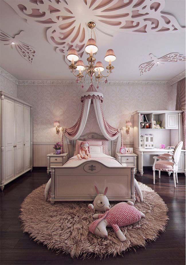 Feminine Bedroom Interior Design For Little S