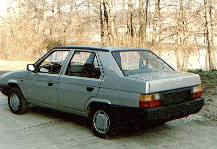 OG | Škoda Favorit Sedan | Prototype
