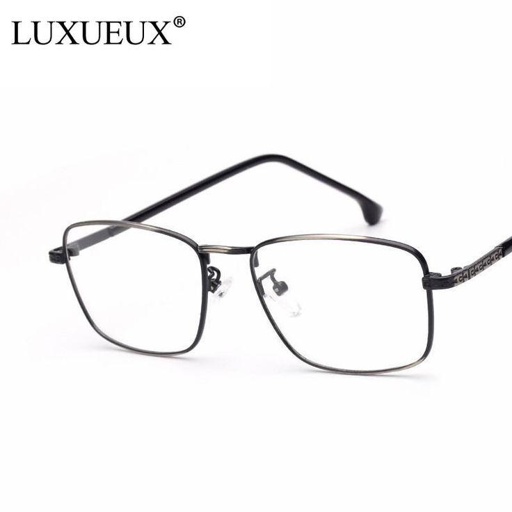 Fashion Cute Style Eye Glasses Frame For Women Men Clear Lens Glasses Vintage Metal Carving Frame Spectacle Monturas De Gafas #Affiliate