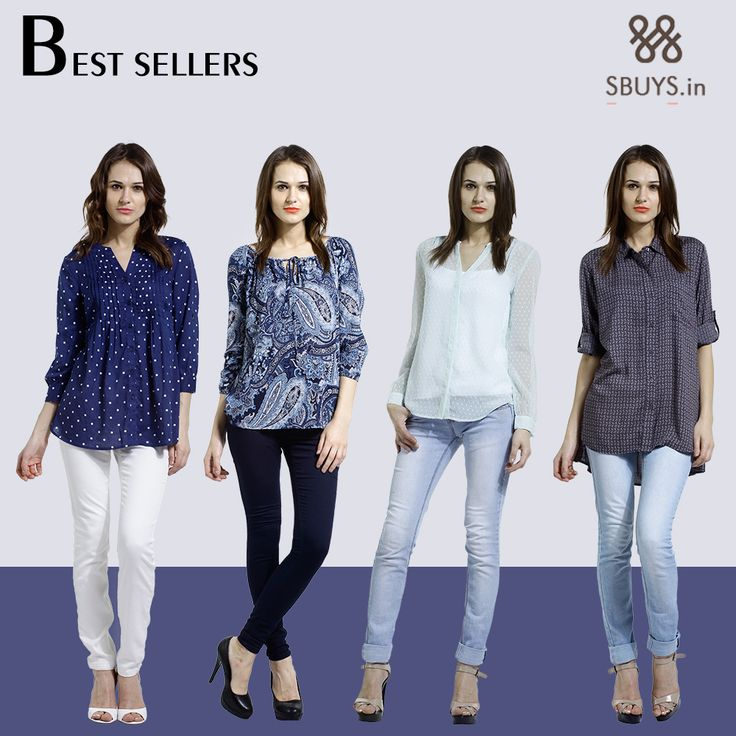 Grab these smart and trendy outfits!! www.sbuys.in #bestsellers #sbuys #trendy #womenswear