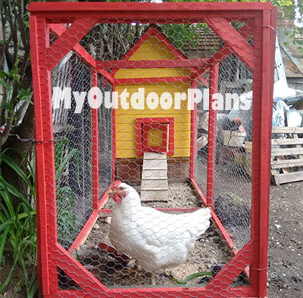 Chicken-coop-run