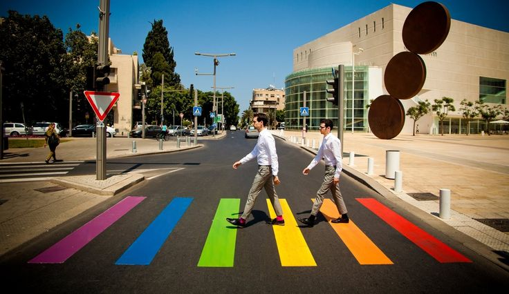 On the Sabbath! Tel Aviv Gay Pride has become one of the biggest events of the year in Tel Aviv with the city's gay community coming out in force to ensure that they, and