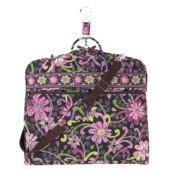 Vera Bradley Garment Bag in Purple Punch