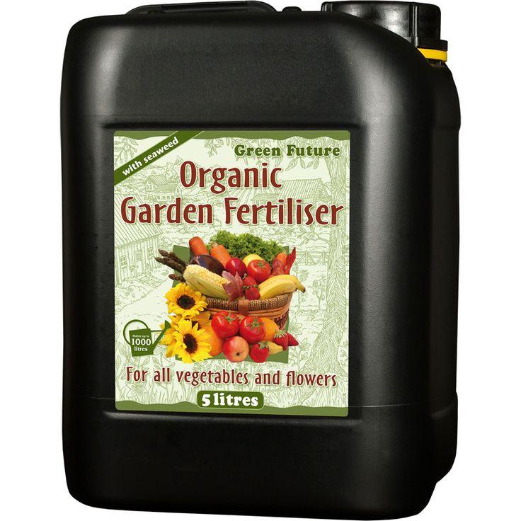 Green Future Organic Garden, 5L #Näring #Trädgårdsväxter #Ekologisk