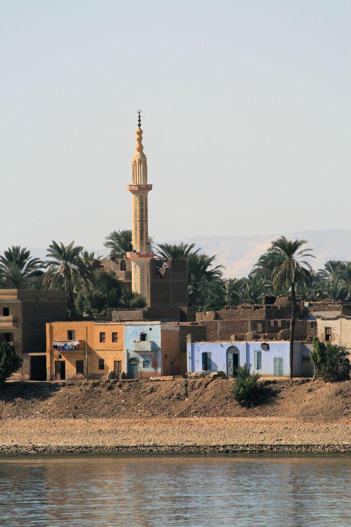 Minaret on the West. Bank