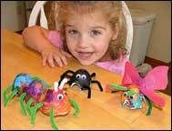 Pyssel: Djur av äggkartong