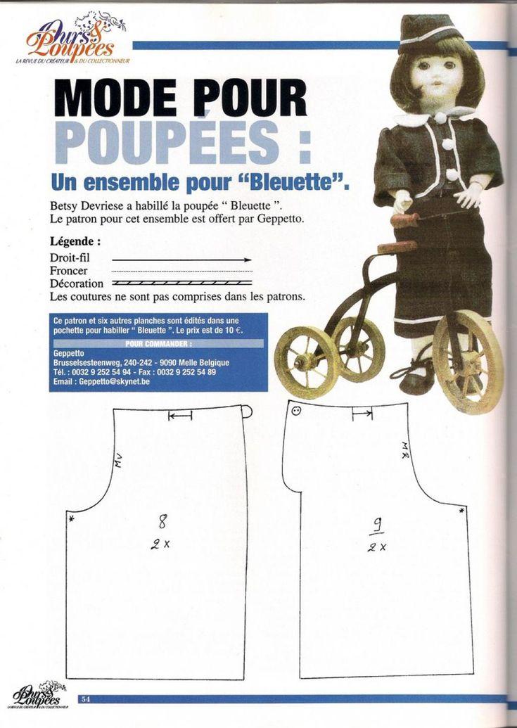 Bleuette : tenue de cycliste: 1) http://www.paramourdespoupees.com/t12947-Tenue-de-cycliste-pour-Bleuette.htm 2) http://img87.xooimage.com/files/4/7/f/num-risation0001-copier--390f5fb.jpg 3) http://img89.xooimage.com/files/c/3/9/num-risation0002-copier--390f608.jpg