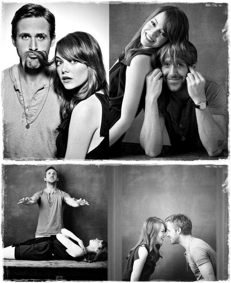 Ryan Gosling - Emma Stone
