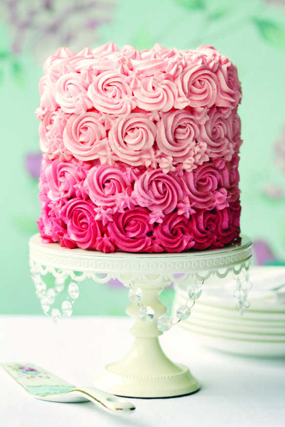 Rose Flavored Frosting Recipe from Fancy Flours