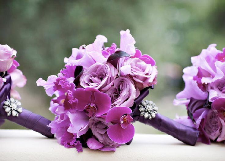 Inspiration Board 103: Lavender Fields | Wedding Bouquets and Flowers | | More Here: http://weddingsandeventsrepublic.wordpress.com/