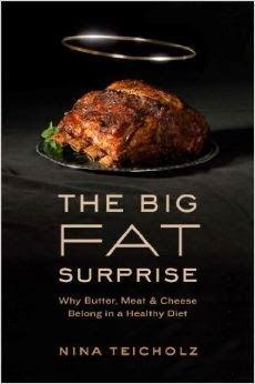 """THE WAR ON FAT IS OVER. FAT WON. - """"This meticulously researched book thoroughly dismantles the current dietary dogma that fat--particularly saturated fat--is bad for us. Teicholz brings to life the key personalities in the field and uncovers how nutritional science has gotten it so wrong. There aren't enough superlatives to describe this journalistic tour de force. I read it twice: once for the information and again just for the writing."""" (Michael R. Eades, M.D."""