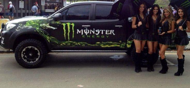 Monster Energy Girls NZ - #HBelite  #NZSGP Ella, Zeisha, Grace, Holly info@HBelite.com