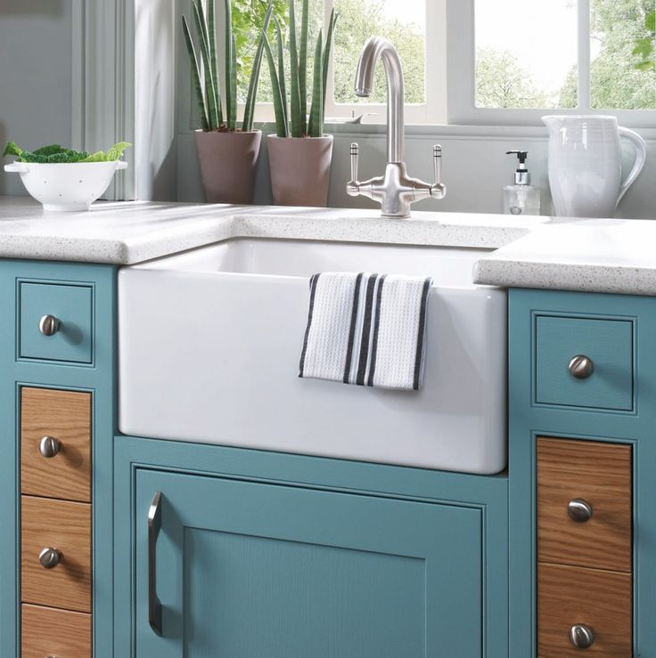 Blue Kitchen With Oak Cabinets: 72 Best Images About Mereway Kitchens On Pinterest