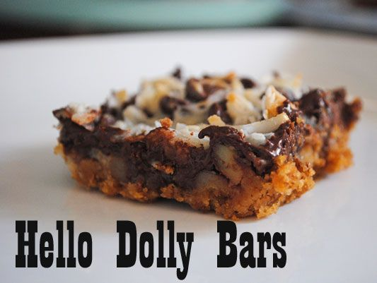 Hello Dolly | food and drink | Pinterest