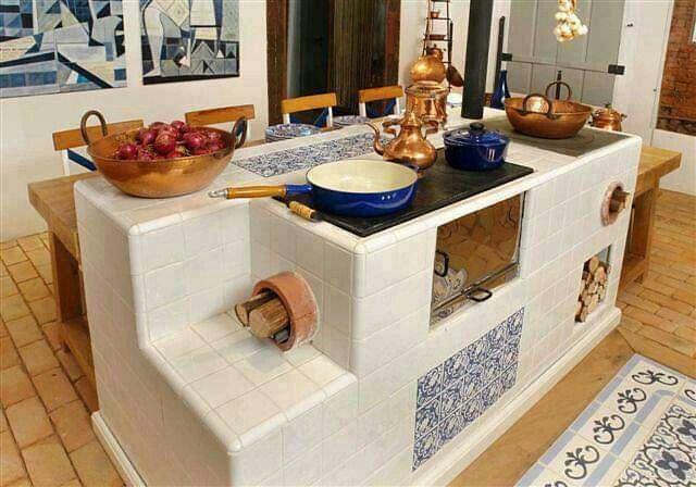 Fogon De Lena Decoracion De Cocinas Rusticas Cocinas Rusticas Cocinas De Casa