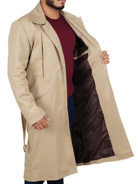 The Arthur Darvill Rip Hunter Legends Of Tomorrow trench brown coat made from the highest quality Cotton, is available in a lovely brown color. Buymoviejacket offer thi coat at a discount price for their customers and free shipping as well.