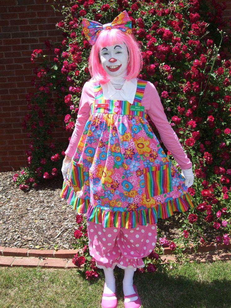 Clowns picture from female clown cute