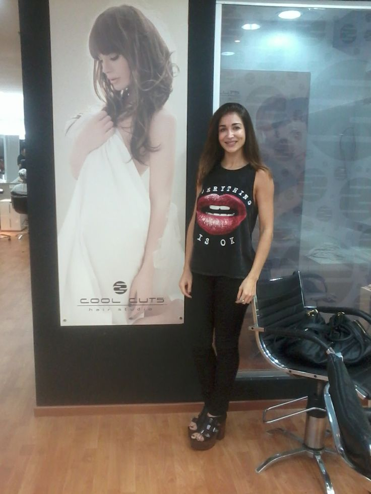 Laura Bruni en Cool Cuts Hair Studio sucursal Barrio Norte.