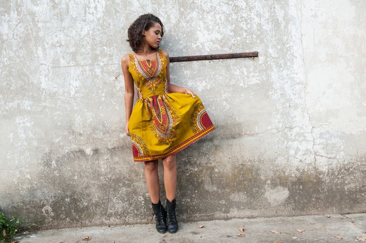 Dress from Gambia - Addis Abeba by KOKOworld via DaWanda.com