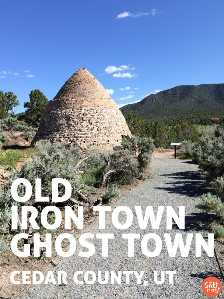 The Salt Project | Things to do in Utah with kids | Old Iron Town Ghost Town | Cedar City | Utah | Iron County
