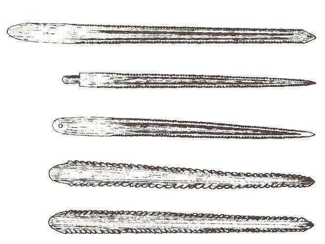Stingray Tail Spike Arrow & Spear Points.jpg (666×500)