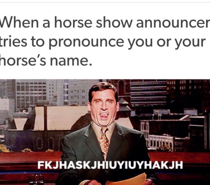 Too funny! Please comment the craziest horse name you have ever heard.
