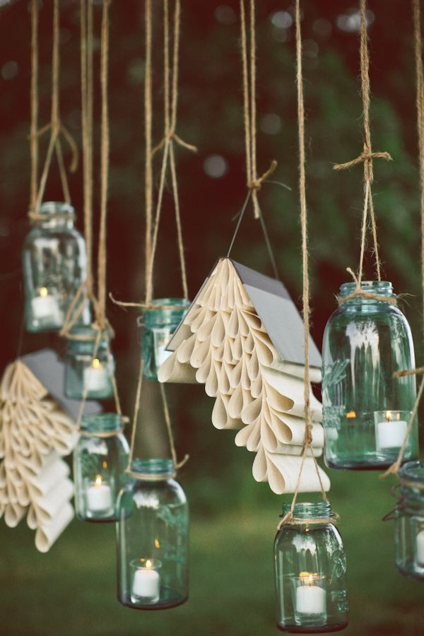 i would like to try it some day: Decor, Blue Mason Jars, Ideas, Old Book, Book Art, Canning Jars, Candles, Book Pages, Romantic Garden