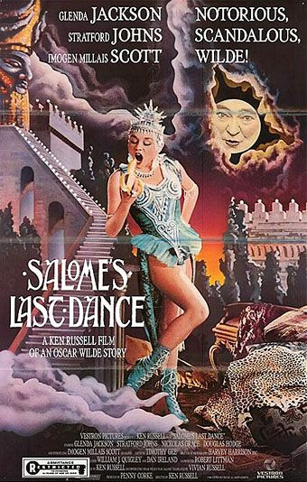 "Salome's Last Dance [dir. Ken Russell] poster. ""I *will* kiss your lips, John the Baptist"". Love this film!"