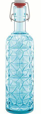 flasche bügelverschluss italienisch glas blau - Google-Suche