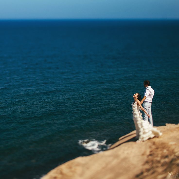 About to make the big step!  #Lovers #Santorini #Sea #Love