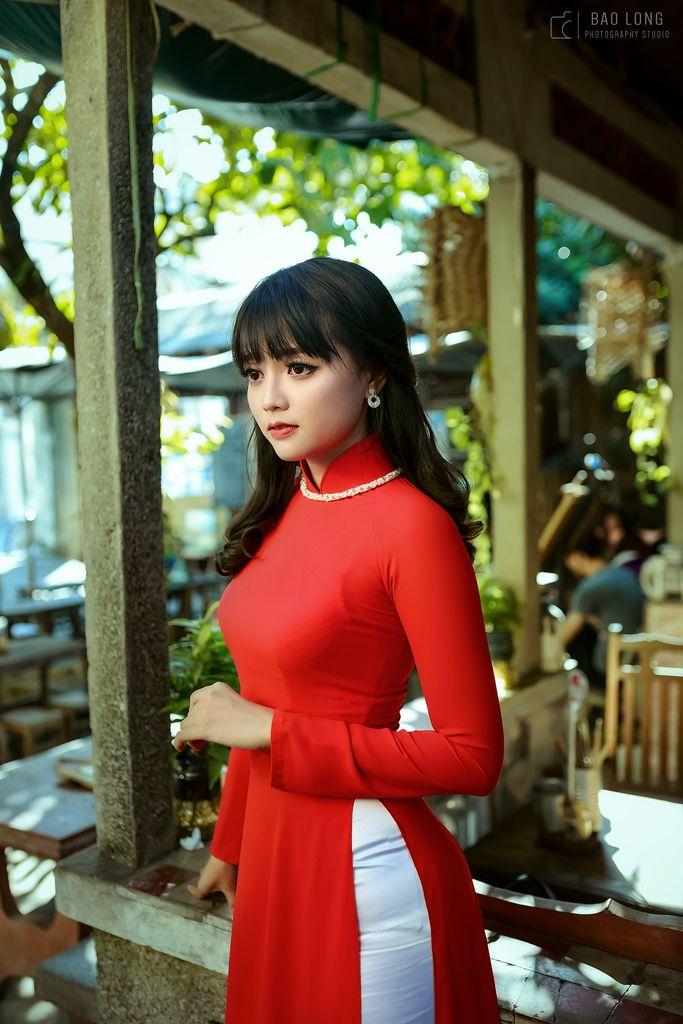 Ao Dai Vietnam Long Dress Sky Blue Double Layers