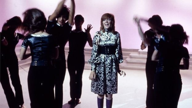 Cilla Black hosted the Cilla variety show between 1968 and 1976