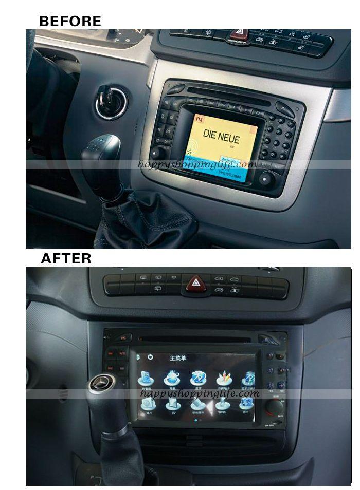 Install mercedes benz slk r171 2004 2012 dvd player gps for Mercedes benz dvd player